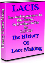 LACIS reveals how to make lace and how to sew by hand.