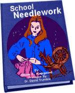 School Needlework reveals how to sew by hand.