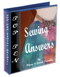 Free Instructions For Beginners In Sewing, Free instructions on learning how to sew